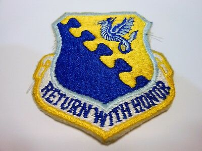 Original US AIR FORCE 31st FIGHTER WING Unit Insignia Patch - Aviano AB, Italy