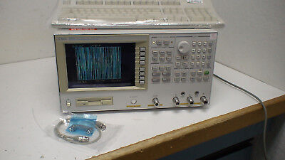 Agilent 4395A 10 Hz - 500 MHz, 3 mOhm - 500 MOhm Network/Spectrum Analyzer