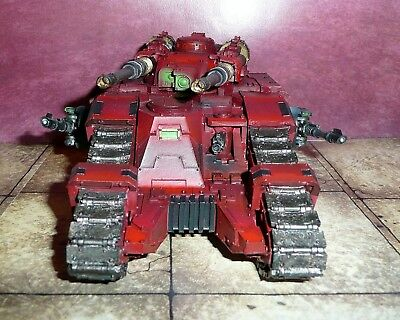 Legion Sicaran Battle Tank, Space Marines Blood Angels, Forge World, W40k
