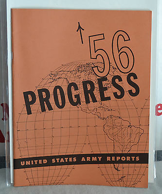 VTG 1956 Progress United States Army Reports Willys Jeep Mechanical Mule M274 NM
