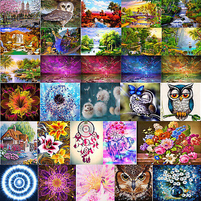 Full Drill 5D DIY Diamond Painting Embroidery Cross Craft Stitch Home Decor Art