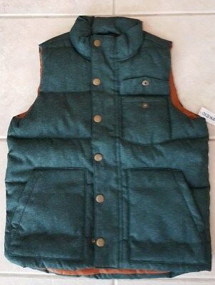 Boy Old Navy Quilted Vest Size M / 8 / Nwt Free Shipping!