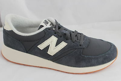 Mens New Balance Navy Blue Textile Lace Up Trainers Uk Size 5 * Ex Display