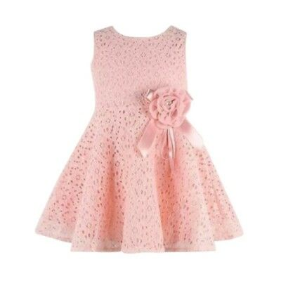 Girls dress/Elegant princess dress flower/Fashion lace dress 0-24 months