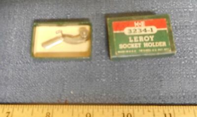 Vintage K&E Keuffel & Esser Leroy Socket Holder Drafting Tool Part 3234-1 NIB
