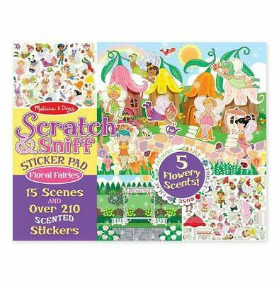 Melissa and Doug Scratch & Sniff Sticker Pad - Floral Fairies