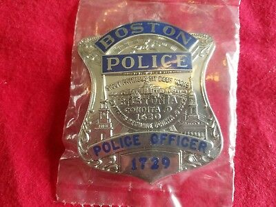 Boston police officer hallmarked
