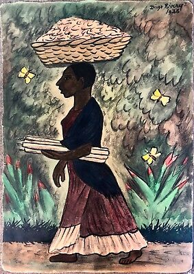Diego Rivera The Watermelons Giclee Canvas Print Paintings Poster Reproduction C
