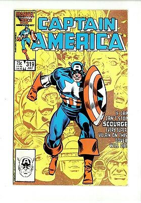 Captain America # 319 Fn. Marvel. July 1986