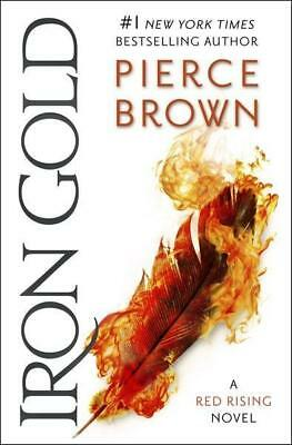 NEW Iron Gold By Pierce Brown Paperback Free Shipping