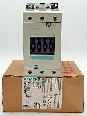 Siemens Sirius 3RT1045-1AF00 Contactor  3 Pole 80A 80 amp 110V  AC-3 37kW 400V