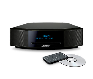 Bose Wave Music System IV with Bluetooth/DAB/AM/FM Tuner & CD Player (Black)
