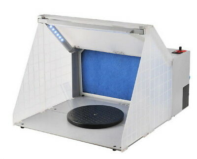 HSeng Portable Airbrush Spray Painting Booth with LED Lighting