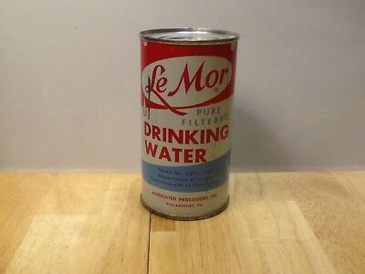 Le Mor Drinking Water Flat Top Soda Can