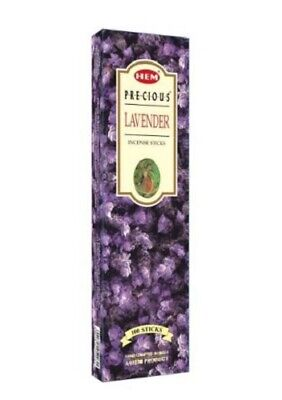 Bulk Buy 120 x HEM Incense Sticks Relaxation Fragrance - Precious Lavender