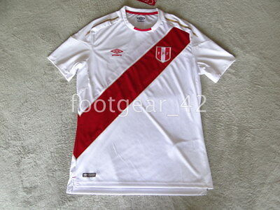 08385d45c Official Authentic Peru Jersey Soccer 2018 Russia World Cup Shirt Football  Home