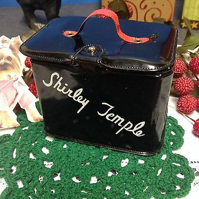 🌷 As Is Original Ideal Shirley Temple Doll Vintage Curler Box/Case/Trunk 🌷