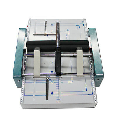 Manual A3 Paper Booklet Riding Stapler Booklet Binding & Folding Machine 220V