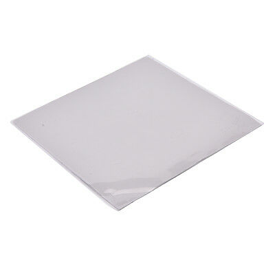 Grey GPU CPU Heatsink Cooling Thermal Conductive Silicone Pad 100mmx100mmx1mm AT