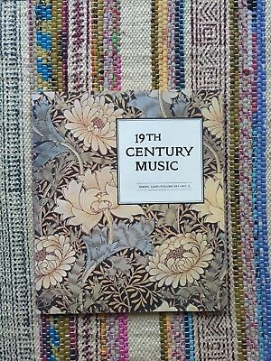 Antique Vintage 19th Century Music Journal '98 (Schumann and German Nationalism)