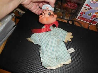 Here's A Vintage Popeye Hand Puppet In Pretty Good Condition See Pic's