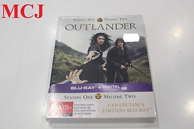 Brand New - Outlander Season 1 Volume 2 Collector's Edition Blu-ray Region Free