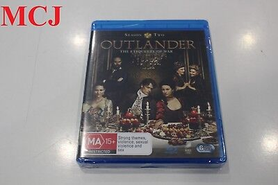 Brand New - Outlander Season 2 Blu-ray Region Free