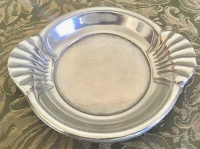 RARE Vintage WILTON Cast Iron and Pewter soap dish