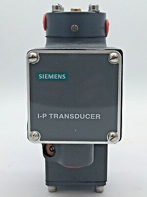 Siemens 77-16 Electric-To-Pneumatic  Transducer Model Series 77-16