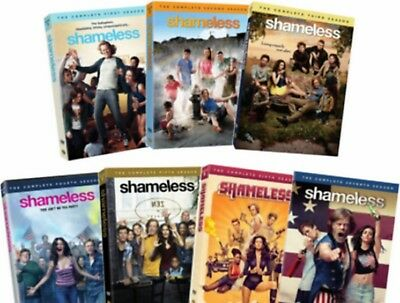 SHAMELESS DVD ALL Season 1-8 The Complete Series DVD Set Collection NEW. FREE SH