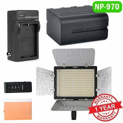 Yongnuo YN 300 III Pro 3200-5500K LED Video Light For Studio DSLR 970 Battery