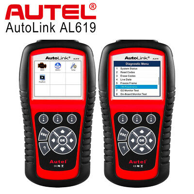 Autel AL619 OBD2 Auto Diagnostic Tool CAN Code Reader Scanner for SRS ABS Airbag