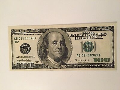 100 US Dollar Banknote  .1996