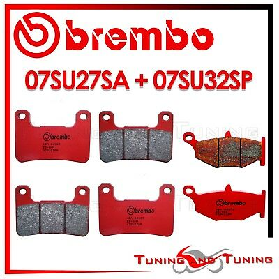 Pastiglie Freno BREMBO Ant. SA + Post. SP SUZUKI DL V-STROM ABS 1000 2014 2015