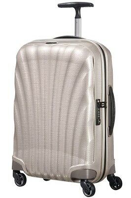 "Samsonite Cosmolite 3.0 20"" PEARL Carry on Spinner Luggage 4-wheeled 80407-1673"