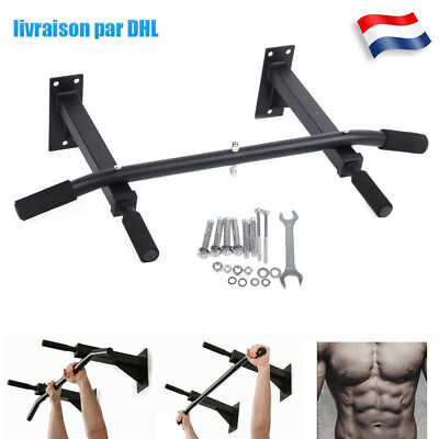Barre de Tractions murale fitness musculations exercices bicipitales tractions