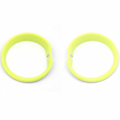 Yellow,Front Fog Lamp Light Cover Frame For Mini Cooper Clubman F54