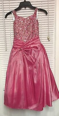 Tiffany Pageant Dress Pink Size 4 Beautiful Formal  Dance