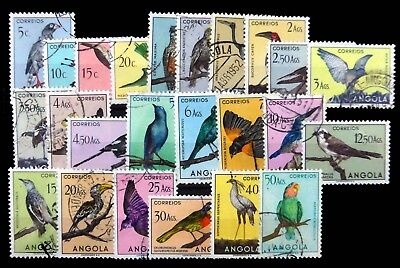 ANGOLA 1951 Birds Complete SG458-81 Fine/Used NC951