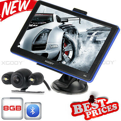 "XGODY 7"" LKW Navigationsgerät Kapazitiven Display PKW BUS GPS POI Blitzer MP3"