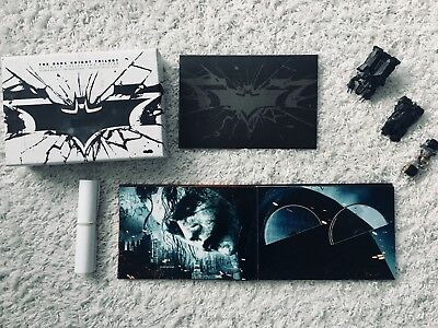 The Dark Knight Trilogy Ultimate Collector's Edition Blu-Ray und Extras