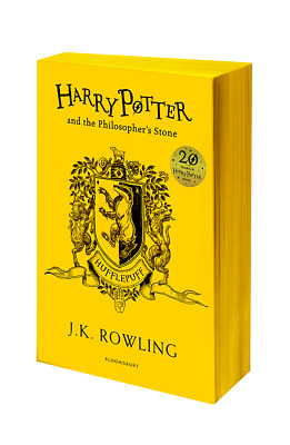 Harry Potter and the Philosophers Stone - Hufflepuff Edition - Paperback English