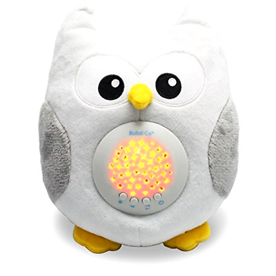Bubzi Co Baby Sleep Aid Night Light & Shusher Sound Machine & Baby Gift, LED St