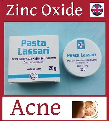 Non-greasy 25% Zinc oxide Rosacea  Acne treatment Skin Inflammation Cream Paste