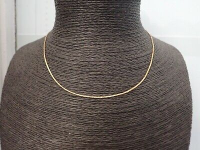 9ct Solid Gold Chain -Spiga Link - * Fully Hallmarked