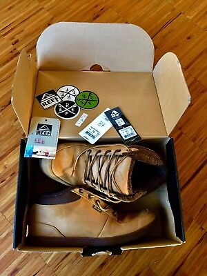 Reef Shoes Tradition Mid Boots 10 43 Mustard Schuhe guter Zustand
