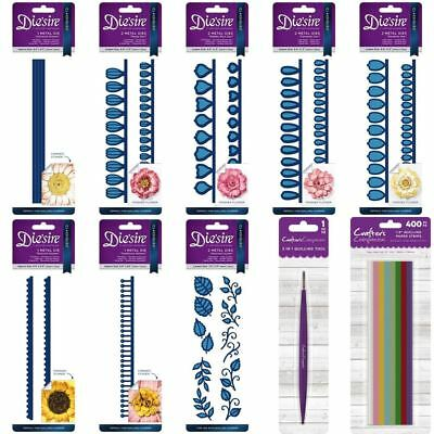 *OFFER* Crafter's Companion Die'sire Paper Card Flower 3D Quilling Die Range!
