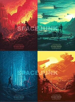STAR WARS The Force Awakens IMAX Posters (SET OF 4)