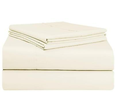 Persian Collection Beige Queen 1900 Count Sheet set 16 Deep Pocket Wrinkle Free