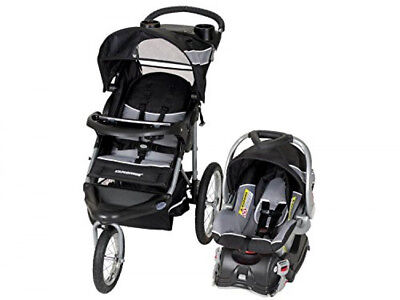 Baby Trend Expedition Jogger Stroller Travel System with Infant Car Seat Phantom